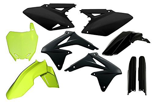 Acerbis Full Plastic Kit - Flo-YellowBlack