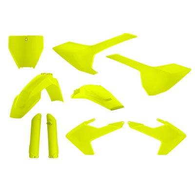 Acerbis Full Plastic Kit Flo Yellow for Husqvarna FC 350 2016-2018