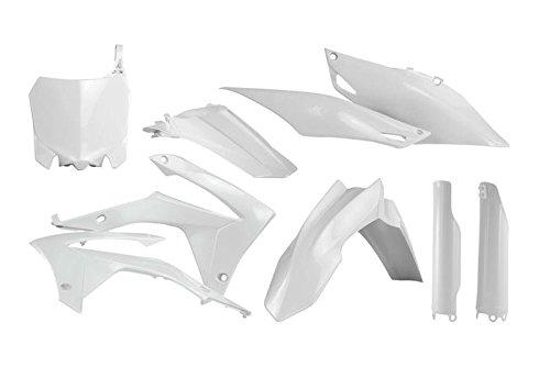 Acerbis Full Plastic Kit - White 2630700002