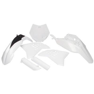 Acerbis Full Plastic Kit White for KTM 65 SX 2012-2015