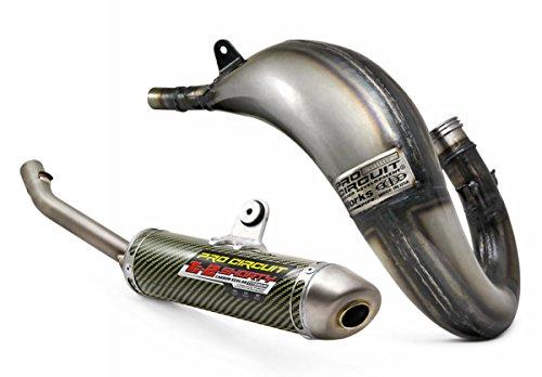 Pro Circuit Exhaust System - Works Pipe Ti2 Silencer - Husqvarna TC 125 KTM 125150 SX 2016-on _07516121151612K