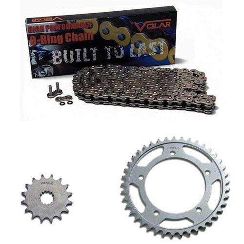 2004-2009 Yamaha FZ6 O-Ring Chain and Sprocket Kit - Nickel