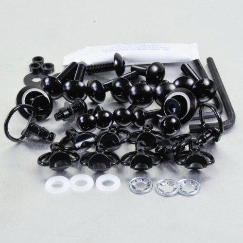 Aluminium Fairing Kit Ducati 999 Quick Release Allen Key and D Ring Black