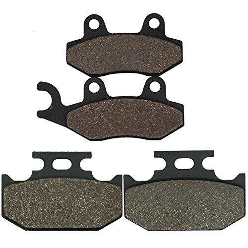 Cyleto Front and Rear Brake Pads for SUZUKI GSXR 1100 GSXR1100 1993 1994 1995 1996 1997 1998
