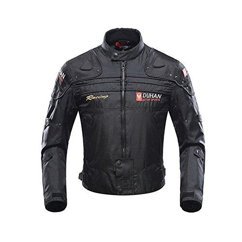 MOOTOO Motorcycle Jacket Motorbike Riding Jacket Windproof Motorcycle Full Body Protective Gear Armor Autumn Winter Moto Clothing 2X-Large