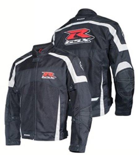 Suzuki GSXR Gixxer GSX-R Mesh Riding Jacket Black XX-Large XXL 2X