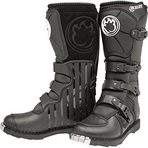 Ocelot Black SZ 1 SX3 Youth Boots Kids Motocross Boots