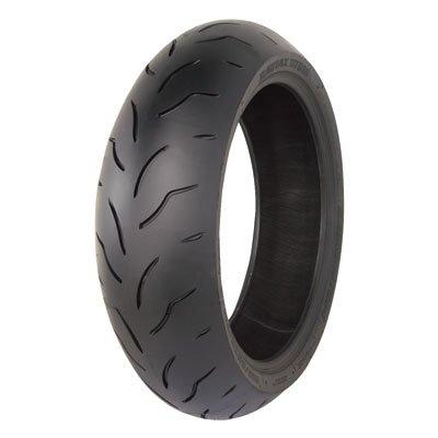 18055ZR-17 73W Bridgestone Battlax BT016 Pro Hypersport Rear Motorcycle Tire for Aprilia Caponord 1200 ABS 2014-2016
