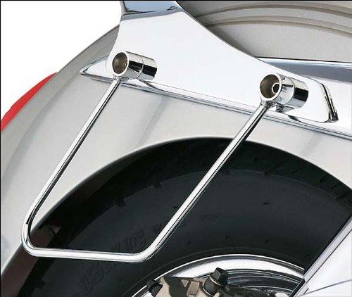 07-09 HONDA VTX1300C Cobra Saddlebag Supports - Chrome CHROME