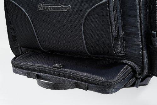 TourMaster 8201-0305-07 Black X-Large Nylon Cruiser III Sissy Bar Bag