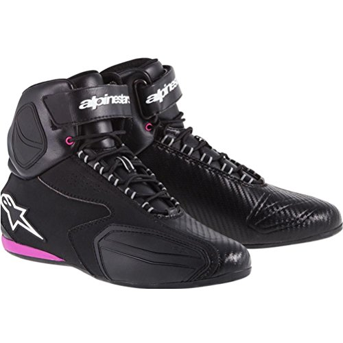Alpinestars Faster Womens Vented Street Motorcycle Shoes - BlackPink  85