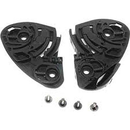 Shoei CW-1 GearRatchet Kit Base Plate Set WScrewsBlackX-TwelveX12RF-1100 Qwest