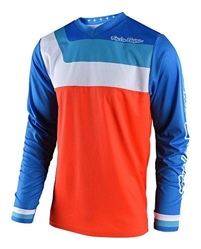 2018 Troy Lee Designs GP Prisma Jersey-Orange-L