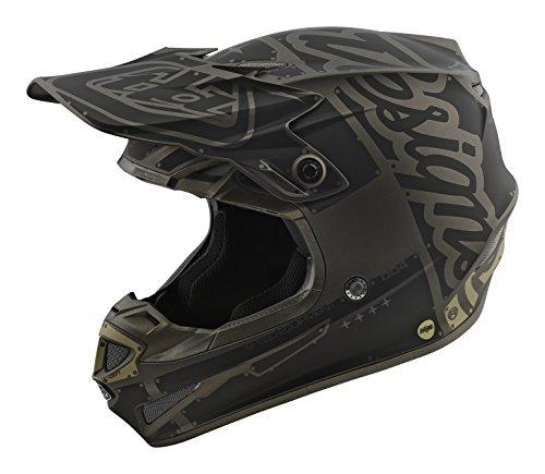 2018 Troy Lee Designs SE4 Polyacrylite Factory Helmet-Gray-L