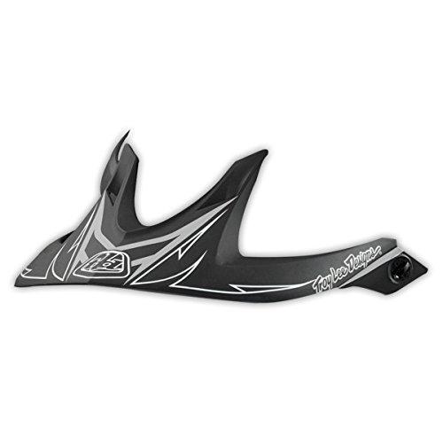 Troy Lee Designs Adult A1 Visor Turbo BMX Helmet Accessories - Black  One Size