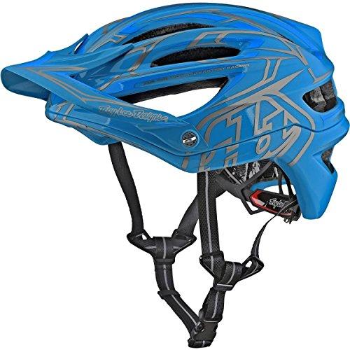 Troy Lee Designs Pinstripe 2 Adult A2 BMX Helmet - Ocean  MediumLarge