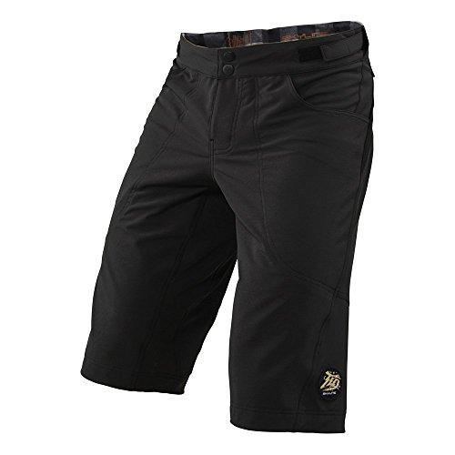 Troy Lee Designs Skyline Mens BMX Bike Shorts - Black  Size 34