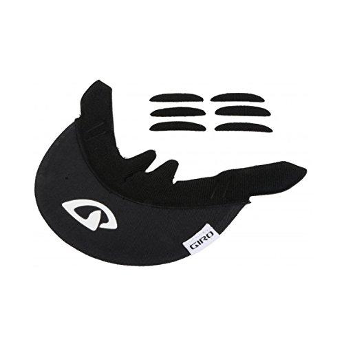 Giro Bicycle Helmet Replacement Cloth Visor Black