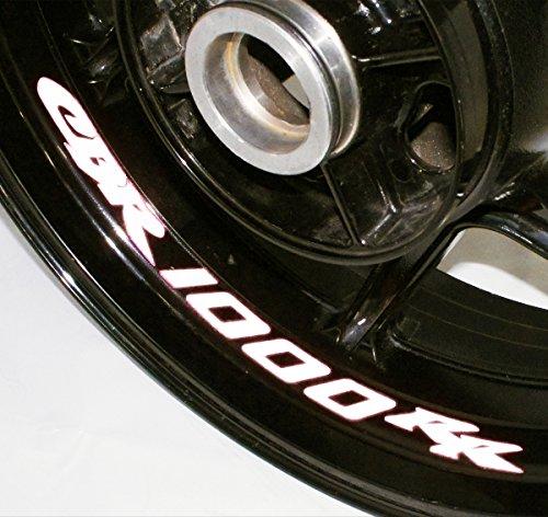 AFBA Honda CBR1000RR Inner Rim Motorcycle Sticker Decal Stripe Gloss White