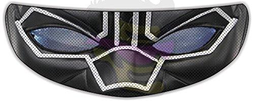 Black Panther Helmet Visor Sticker Motorcycle Biker Shield Decal Tint Eyes