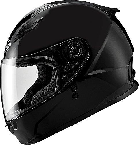 Gmax FF49 Full Face Street Helmet Flat Black Large
