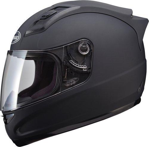 Gmax GM69 Full Face Street Helmet Flat Black Large