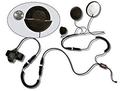 MotoComm Plug-in Bike-To-Bike Communications for Yaesu  Vertex Radios - Finger Helmet Mount - Full Helmet