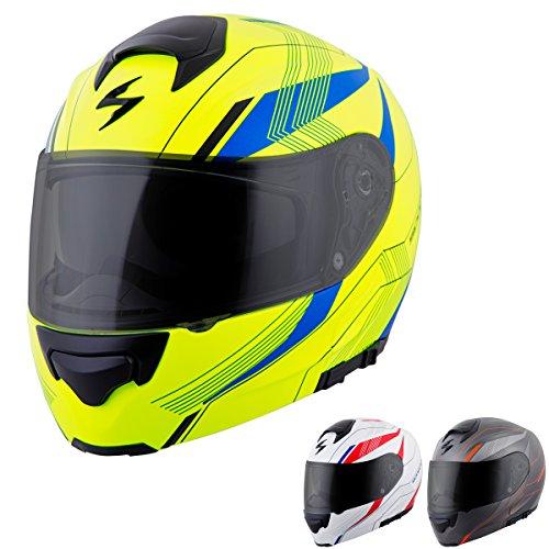 ScorpionExo EXO-GT3000 Sync Full Face Modular Helmet GreyOrange XX-Large