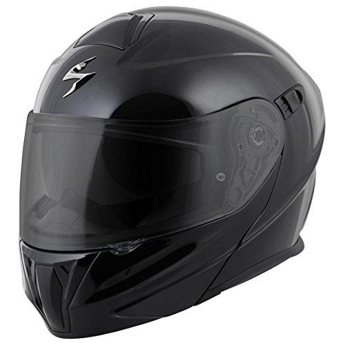 ScorpionExo EXO-GT920 Full Face Modular Helmet Solid Black Medium