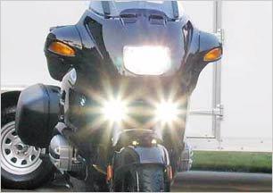 2005-2011 BUELL FIREBOLT XB12R XENON FOG LIGHTS DRIVING LAMPS LIGHT LAMP KIT 2006 2007 2008 05 06 07
