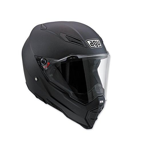 AGV AX-8 Evo Naked Matte Black Full Face Helmet 2XL