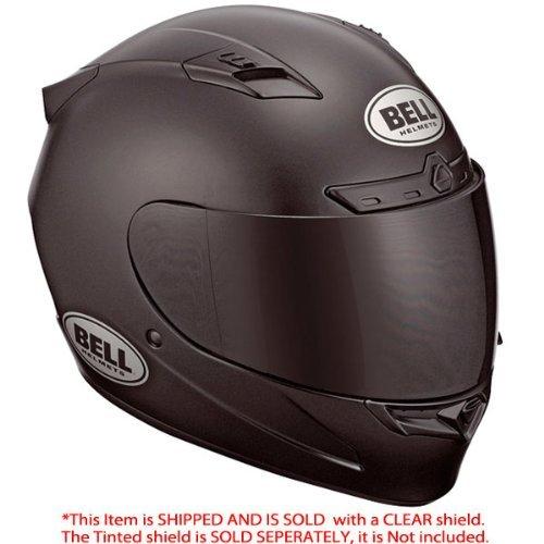 Bell Vortex Matte Black Full Face Helmet - Medium