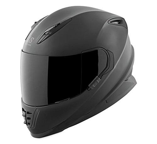 Speed and Strength SS1310 Under The Radar Matte Black Full Face Helmet M