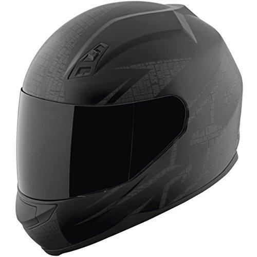 Speed and Strength SS700 Hammer Down Matte Black Full Face Helmet XL
