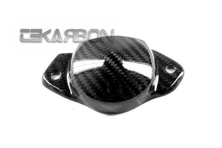 2011 - 2014 Suzuki GSR 750 Carbon Fiber Exhaust Heat Shield RH