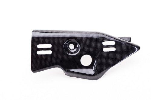 Bestem CBKA-10R11-EHC Black Carbon Fiber Exhaust Heat Shield for Kawasaki ZX10R 2011 – 2013