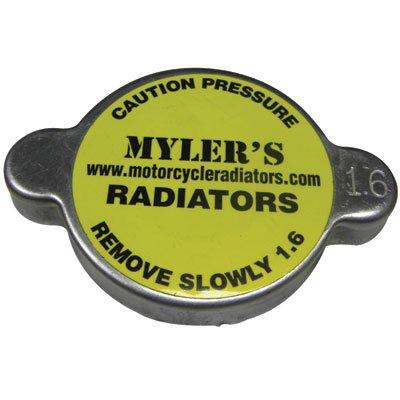 Mylers High Pressure Radiator Cap 23 PSI for Kawasaki KE125 1976-1983