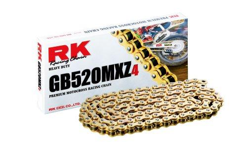 RK Chain GB520MXZ4-120 Motocross 120 Link Racing Chain