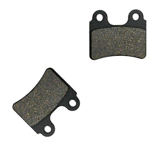 CNBK Front Brake Pads Semi Met for BETA Dirt Bike Evo200 Evo 200 2T 09 10 11 12 13 14 15 2009 2010 2011 2012 2013 2014 2015 1 Pair2 Pads