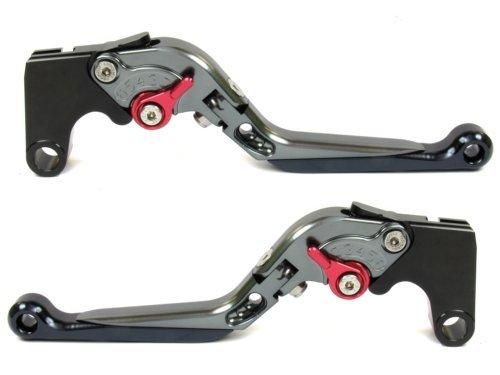 Moto-777 XXD Extend Fold Clutch Brake Levers Titanium for Yamaha MT-09 SR FZ-09 2013-2014