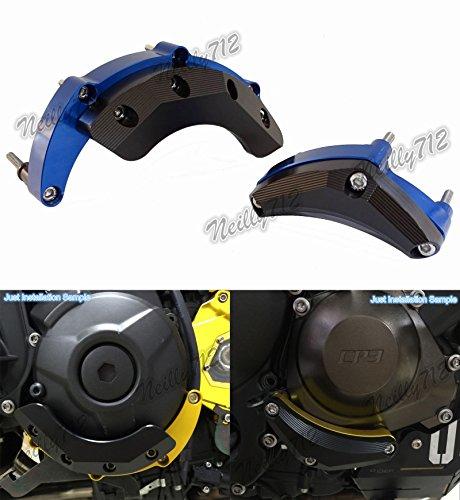 waase For YAMAHA MT-09 MT09 MT 09 2014-2017 Engine Guard Case Slider Cover Protector FJ-09 MT09 Tracer 900 XSR900 2016 2017 Blue