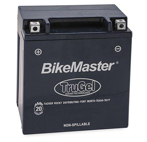 New BikeMaster TruGel Motorcycle Battery - 2005-2009 Suzuki Boulevard M50