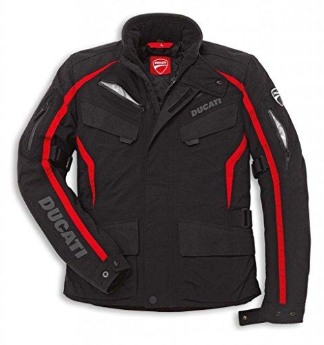 Ducati 981022803 Tour Textile Riding Jacket - Small