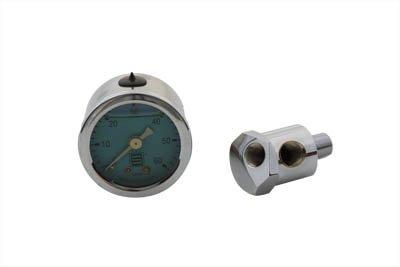 V-Twin 40-0585 - Oil Pressure Gauge Kit