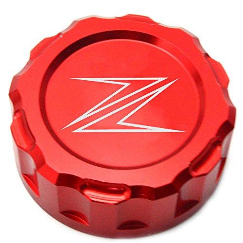 Decal Story Rear Brake Fluid Red Reservoir Cap For Kawasaki Ninja ZX-10R 2008-2014 ZX6R 2009-2014 Z1000 2010-2013