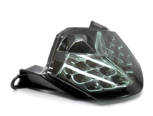 MZS LED Tail Light for Kawasaki ZX-6RZX600 2009-2012ZX-10RZX1000 2008-2010Z750 2007-2012Z1000 2007-2009 Smoke