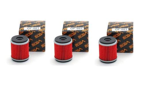 2009-2017 Yamaha XT250 Oil Filter - 3 pieces