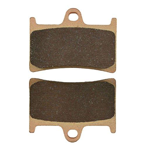 AHL Front Brake Pads for Yamaha Fazer 8-FZ8-S 800cc Top FairingTwin HeadlightNon ABS RN25142P1 2011 Sintered copper-based