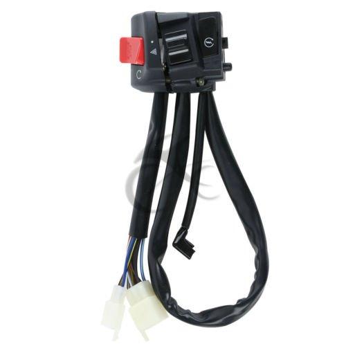 TCMT ATV Scooter Handlebar Left Turn Signal Switch Control For HONDA CB 400 1300 VTEC