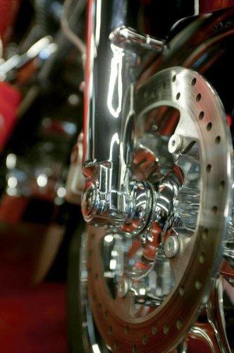 Klock Werks Lower Fork Leg Axle Cap Chrome for Harley Davidson FL 00-10